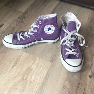 Coverse All Star high tops